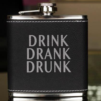 Funny Flask, Unique Flask, Drink Dr..