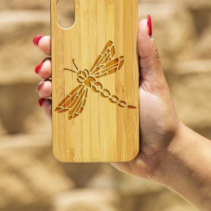 Dragon Fly IPhone X Case, Engraved ..
