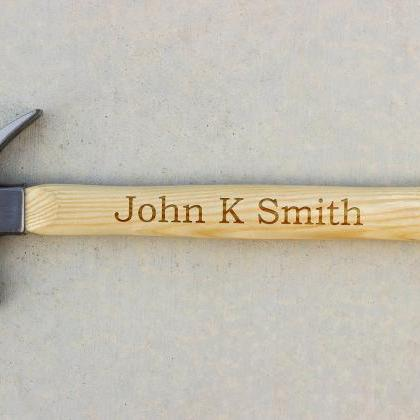 Personalized Hammer, Fathers day gi..