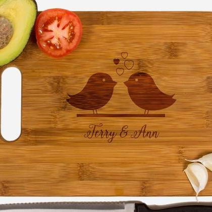 Personalized cutting board, Wedding..