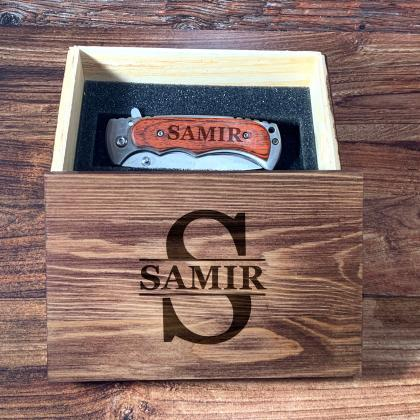 Personalize Groomsman gift box,Pers..
