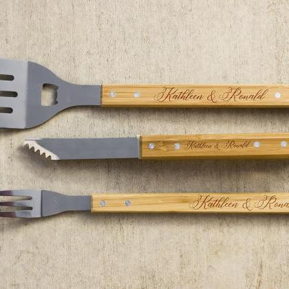 Personalized BBQ Set, Personalized ..