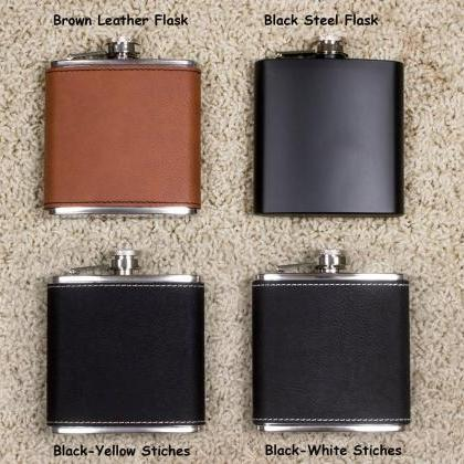 Personalized Flask, Best Man Flask,..