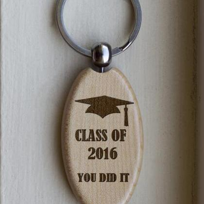 Personalized Key chain, Class of 20..