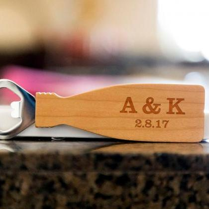 Custom initials bottle opener- cust..