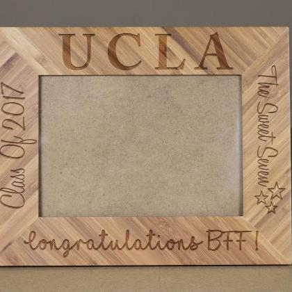 Custom Picture Frame, Engraved Phot..