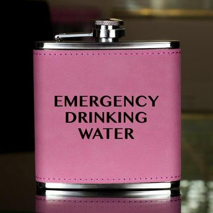 Funny Flask, Unique Flask, Emergenc..