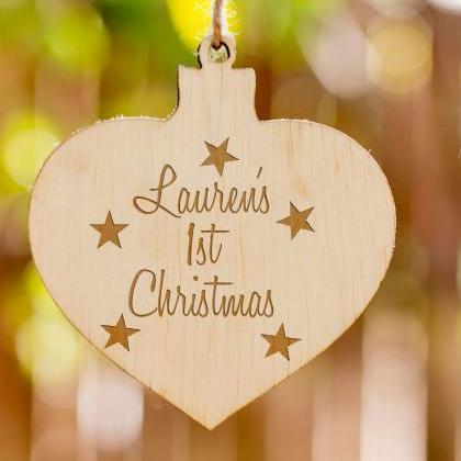 Personalized Christmas Ornament, Ch..