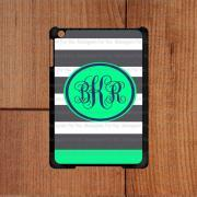 Monogram iPad Case, Stripe Pattern Monogram iPad mini Case, Cute Monogram iPad 2 Case, Best Monogram iPad 3 Case,Cool Monogram iPad 4 Case