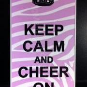 iphone 4 Case, iPhone 4s case Keep Calm Cheer on Light Zebra Print iPhone 4 Cases, Iphone 4s Cover,Case for iPhone 4