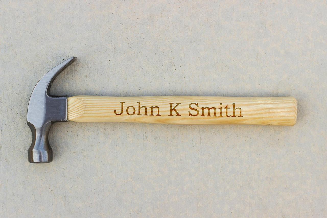 Personalized Hammer, Fathers day gift, hammer, Custom hammer, Engraved hammer, Best Gift for him, Unique Custom gift