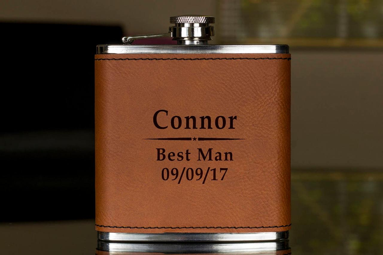 Personalized Flask, Best Man Flask, Wedding Flask, Gift for wedding, Gifts for him, birthday gift, best man gift, Hip Flask