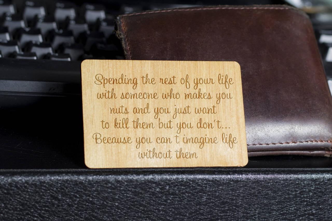 Wooden Wallet insert, Customized Wallet Insert, Custom Wallet Card, Wooden Wallet Insert Card, Wooden Wallet Insert Card, Custom Engraved