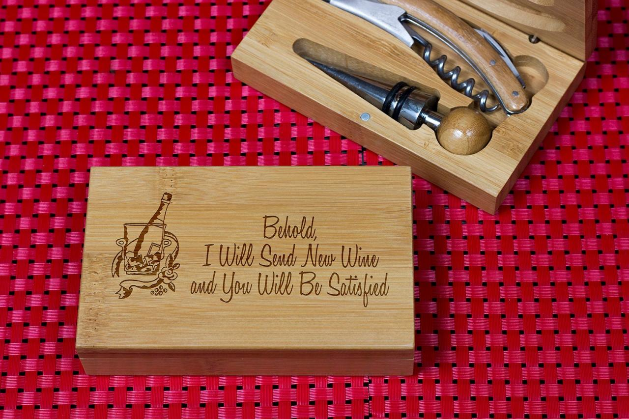 Engraved Wine opener set, Personalized Cork screw Set, Funny Saying Engraved Wine Opener set, Wine Party Favor, Christmas Gift