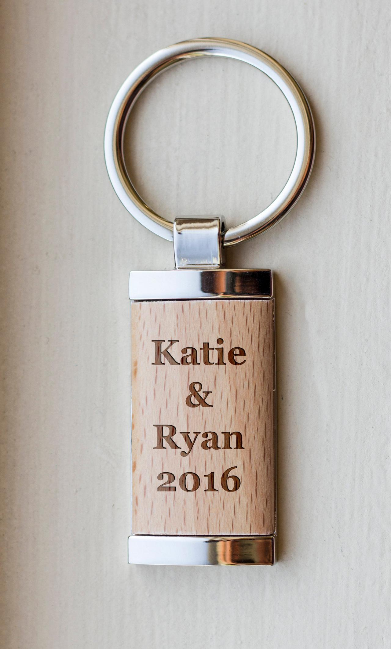 Personalize Key chain, Name key chain, love key chain,custom key chain, wood Engrave key chain, gift for Couple, Gift for newly weds