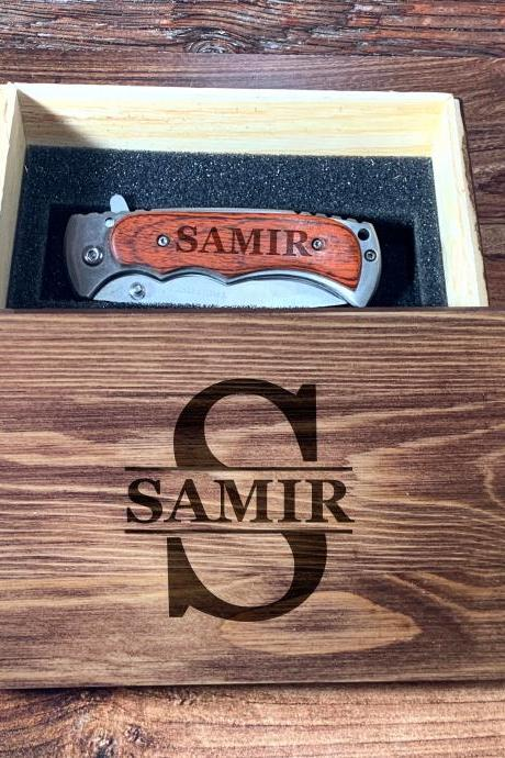 Personalize Groomsman gift box,Personalize Knife,Groomsman Knife,Groomsman gift,Wedding Favor,Pocket Knifes,Gift for Father,Gift for him
