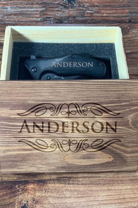 Personalize Groomsman Giftbox, Personalize Knife,Groomsman Knife,Groomsman gift,Wedding Favor, Hunting Knifes,Gift for Father,Gift for him