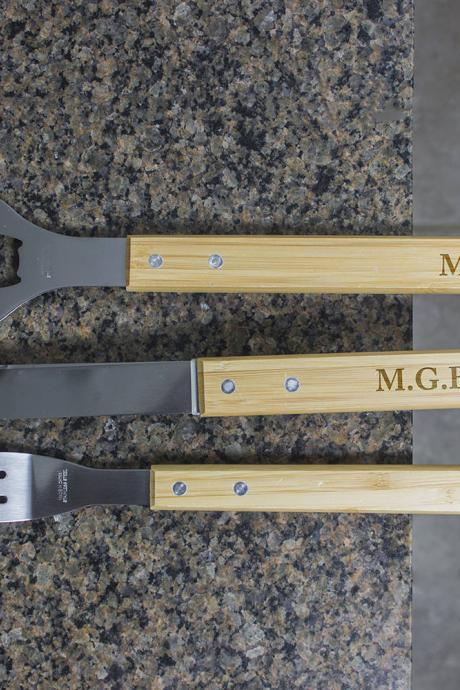 Personalized BBQ Set, Personalized BBQ tool set, Unique BBQ Grill Set, Engraved Barbecue Set, personalized grill set