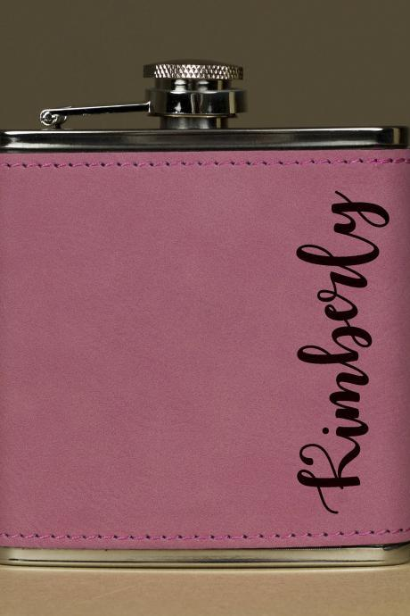 Personalized Flask, Flask For Her, Maid of Honor Flask, Gift for Bridesmaid, Gifts for Her, Birthday Gift,Bridesmaid Flask,Hip Flask