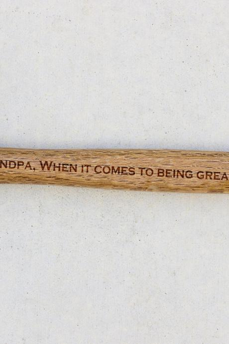 Personalized Hammer, Fathers day gift, hammer, Custom hammer, Grandpa, Nailed It Engraved hammer, Best Gift for him, Unique Custom gift