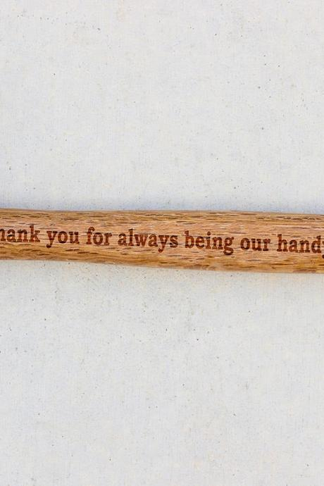 Personalized Hammer, Fathers day gift, hammer, Custom hammer, Thank You, Handyman Engraved hammer, Best Gift for him, Unique Custom gift