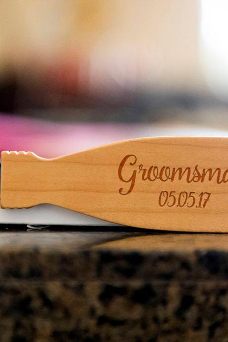 Groomsman bottle opener- custom corkscrew-Engraved wine bottle opener-wedding party gift-monogram bottle opener-personalize opener