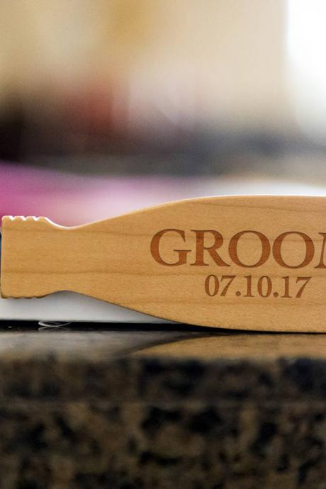 Groom bottle opener- custom corkscrew-Engraved wine bottle opener-wedding party gift-monogram bottle opener-personalize opener