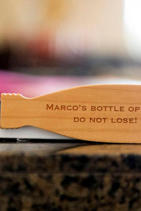 Custom Name bottle opener- custom corkscrew-Engraved wine bottle opener-wedding party gift-monogram bottle opener-personalize opener
