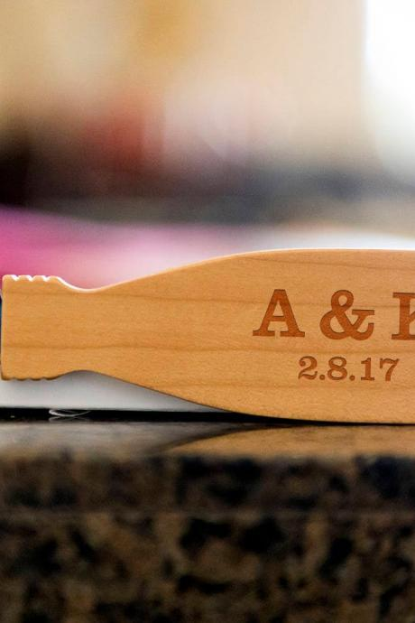 Custom initials bottle opener- custom corkscrew-Engraved wine bottle opener-wedding party gift-monogram bottle opener-personalize opener