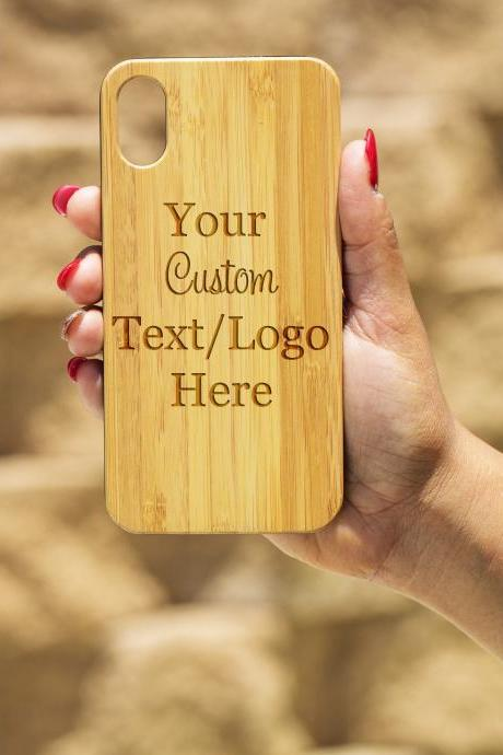 Personalize your own IPhone X Case, Engraved Iphone X case, Wooden Engraved Iphone X Case, Iphone case, Beautiful Gift for here, unique