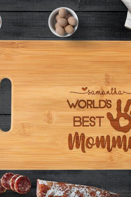 Custom Cutting Board. Personalized Wedding Gift. Bridal Shower Gift. Custom Cutting Board. Mother's Day Gift