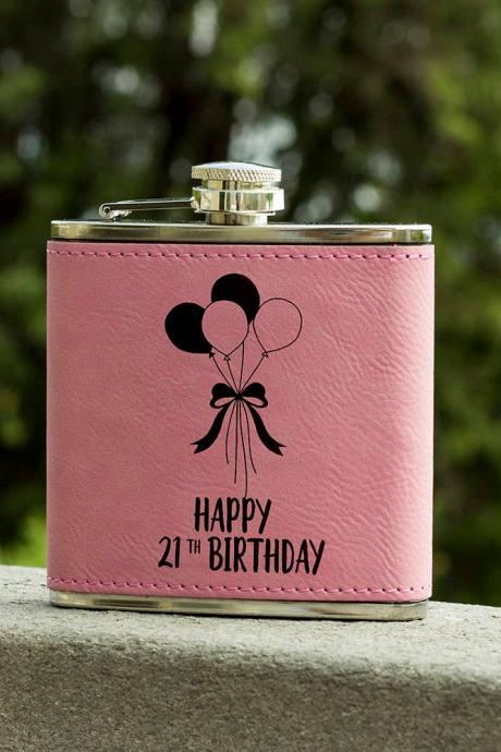 Personalized Flask,Birthday Flask, Maid of Honor Flask, Gift for Bridesmaid, Gifts for Her, Birthday Gift,Bridesmaid Flask