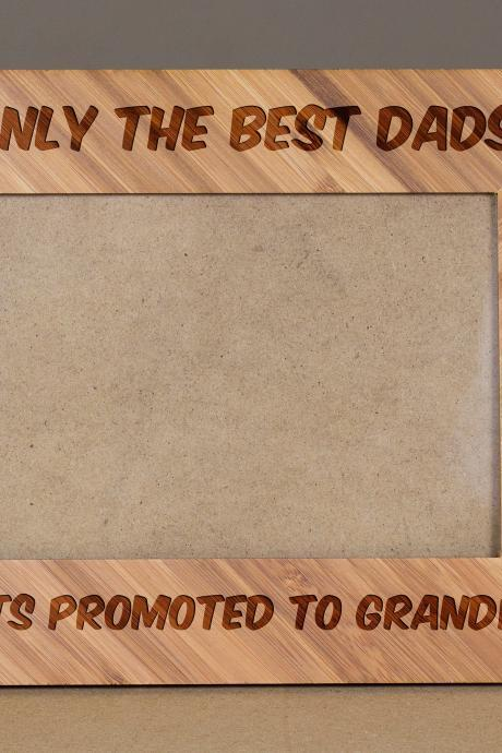 Grandpa frame,Wooden frame,Custom Picture Frame,Engrave Photo Frame,Wooden Photo Frame, Granddad Frame,gift for dad,Gift for him