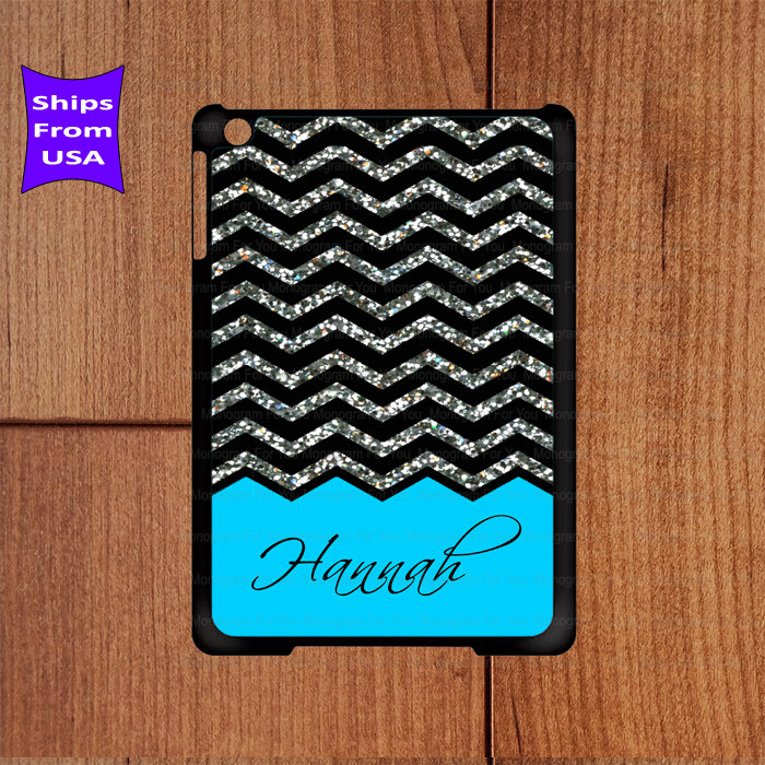 Monogram Ipad Case Chevron Pattern Mini Best 3 Cool 4 Its Not A Real Glitter