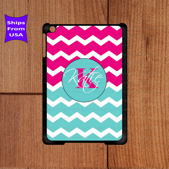 Monogram Ipad Case Chevron Pattern Mini Cute 2 Best 3 Cool 4